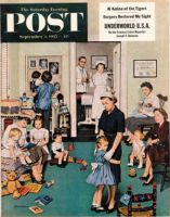 Saturday Evening Post, September 3, 1955 - Separation Anxiety