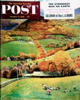 Saturday Evening Post, October 8, 1955 - Football in the Country