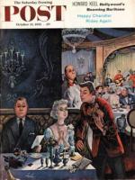Saturday Evening Post, October 15, 1955 - Pricey Dinner