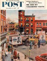 Saturday Evening Post, November 12, 1955 - Candidate Clash