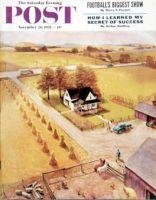 Saturday Evening Post, November 26, 1955 - Thanksgiving on the Farm