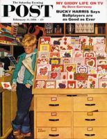 Saturday Evening Post, February 11, 1956 - First Valentine