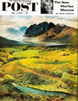 Saturday Evening Post, May 5, 1956 - Rocky Mountain Fly Fishing
