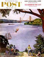 Saturday Evening Post, May 26, 1956 - San Francisco Bay Boys