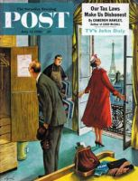 Saturday Evening Post, July 14, 1956 - Paris Hotel