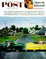 Saturday Evening Post, August 4, 1956 - Backup Collision