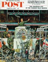 Saturday Evening Post, August 18, 1956 - Post-Convention Cleanup