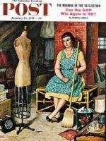 Saturday Evening Post, January 26, 1957 - Former Figure