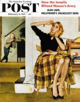 Saturday Evening Post, February 9, 1957 - Eavesdropping on Sister
