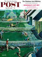 Saturday Evening Post, May 18, 1957, -  Spring Yardwork