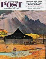 Saturday Evening Post, September 21, 1957 - Ride 'Em Cowboy