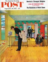 Saturday Evening Post, September 28, 1957 - Model Home