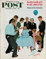 Saturday Evening Post, November 2 1957 - First Birthday