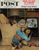 Saturday Evening Post, November 9 1957 - Playing Cowboys