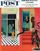 Saturday Evening Post, November 23, 1957 - Early Guests