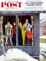 Saturday Evening Post, January 31, 1959 - Rain and Melting Snow