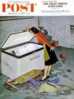 Saturday Evening Post, February 21, 1959 - Frosty in the Freezer