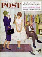 Saturday Evening Post, April 18, 1959 - First Prom Dress