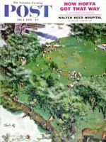 Saturday Evening Post, July 4, 1959 - Picnicking on the Fourth