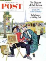 Saturday Evening Post, July 11, 1959 - Parisian Artist & Tourist