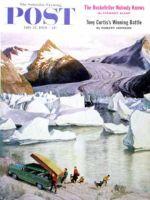 Saturday Evening Post, July 25, 1959 - Portage Glacier
