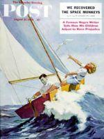 Saturday Evening Post, August 22, 1959 - Seasick Sailor