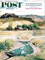 Saturday Evening Post, August 29, 1959 - Swimming in the Creek