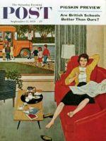 Saturday Evening Post, September 12, 1959 - Morning Coffee Break