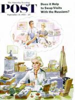 Saturday Evening Post, September 19, 1959 - Daydreaming Woman