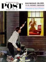 Saturday Evening Post, October 3, 1959 - Finding the Fork