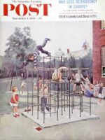 Saturday Evening Post, November 7, 1959 - Jungle Gym
