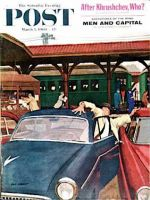 Saturday Evening Post, March 5, 1960 -   Cramped Parking