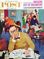 Saturday Evening Post, May 14, 1960 - No Quiet for Daddyo