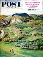 Saturday Evening Post, May 21, 1960 - Green Moutains