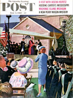 Saturday Evening Post, June 4, 1960 - College Graduation