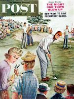 Saturday Evening Post, July 2, 1960 - Distracted Pro Golfer