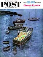 Saturday Evening Post, August 20,1960 -