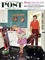 Saturday Evening Post, September 3, 1960 - Putting Around in the Kitchen