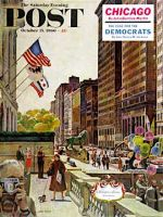 Saturday Evening Post, October 15, 1960 -  Michigan Avenue, Chicago