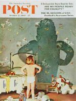 Saturday Evening Post, October 22, 1960 -  Big Shadow, Little Boy