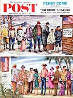 Saturday Evening Post, November 12, 1960 -  First Vote in the New States
