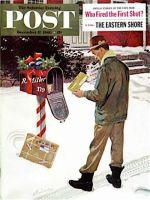 Saturday Evening Post, December 17, 1960 -  Merry Christmas from the IRS