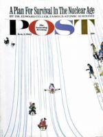 Saturday Evening Post, February 3, 1962 - Sledding Designs in the Snow