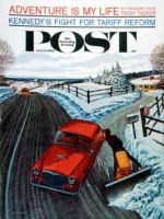 Saturday Evening Post, February 24, 1962 - Kiss At the End of the Driveway