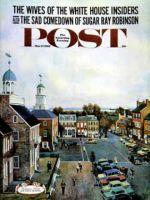 Saturday Evening Post, March 17, 1962 - Town Square, New Castle Delaware