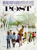 Saturday Evening Post, March 24, 1962 - Distracted Hikers