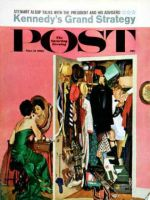 Saturday Evening Post, March 31, 1962 - Hunting His Tux for the Party
