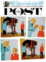 Saturday Evening Post, April 21, 1962 - Smile for the Photographer