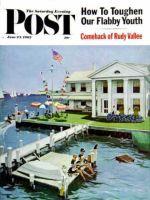 Saturday Evening Post, June 23, 1962 - Yacht Club