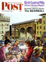 Saturday Evening Post, June 30 - July 7, 1962 - Writing Postcards Home